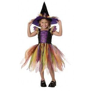 Quatang Gallery- Deguisement Sorciere Multicolore Enfant Halloween Fetes Avec Images Costume D Halloween Fille Costume Fille Deguisement Sorciere