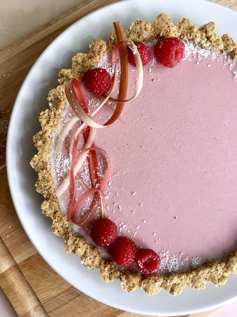 On Wednesdays We Wear Pink Wait Are Those Cookies Rhubarb And Custard Breakfast Dessert Raspberry Almond