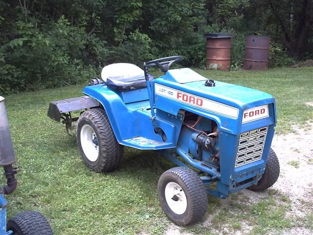 Ford Lgt 165 Seat Cover Tractors Garden Tractor Yard Tractors