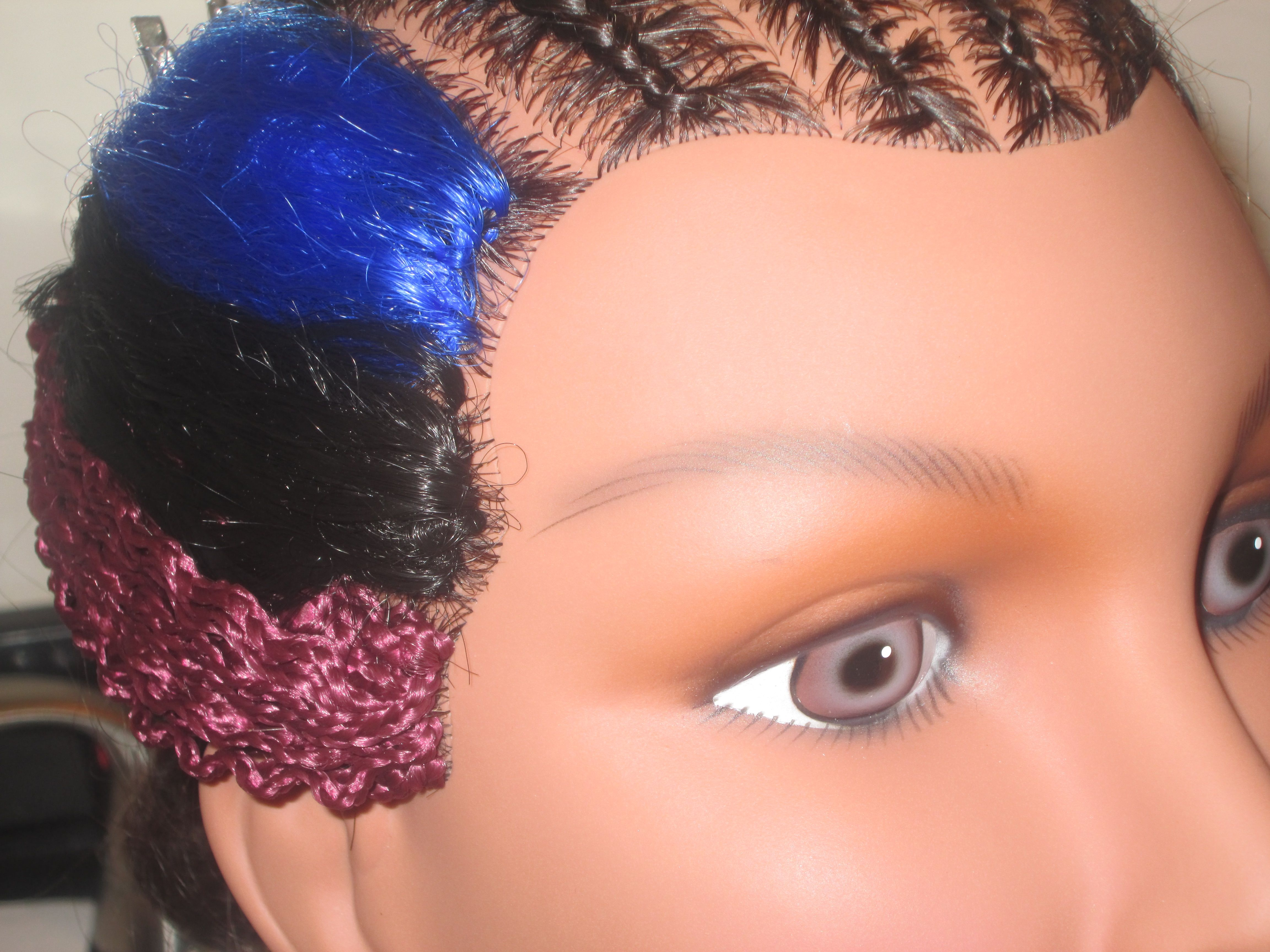 184 best livin a crochet lifestyle images on pinterest hair no hair left out braided barbie lock stitch crochet weave no thread the technique pmusecretfo Choice Image