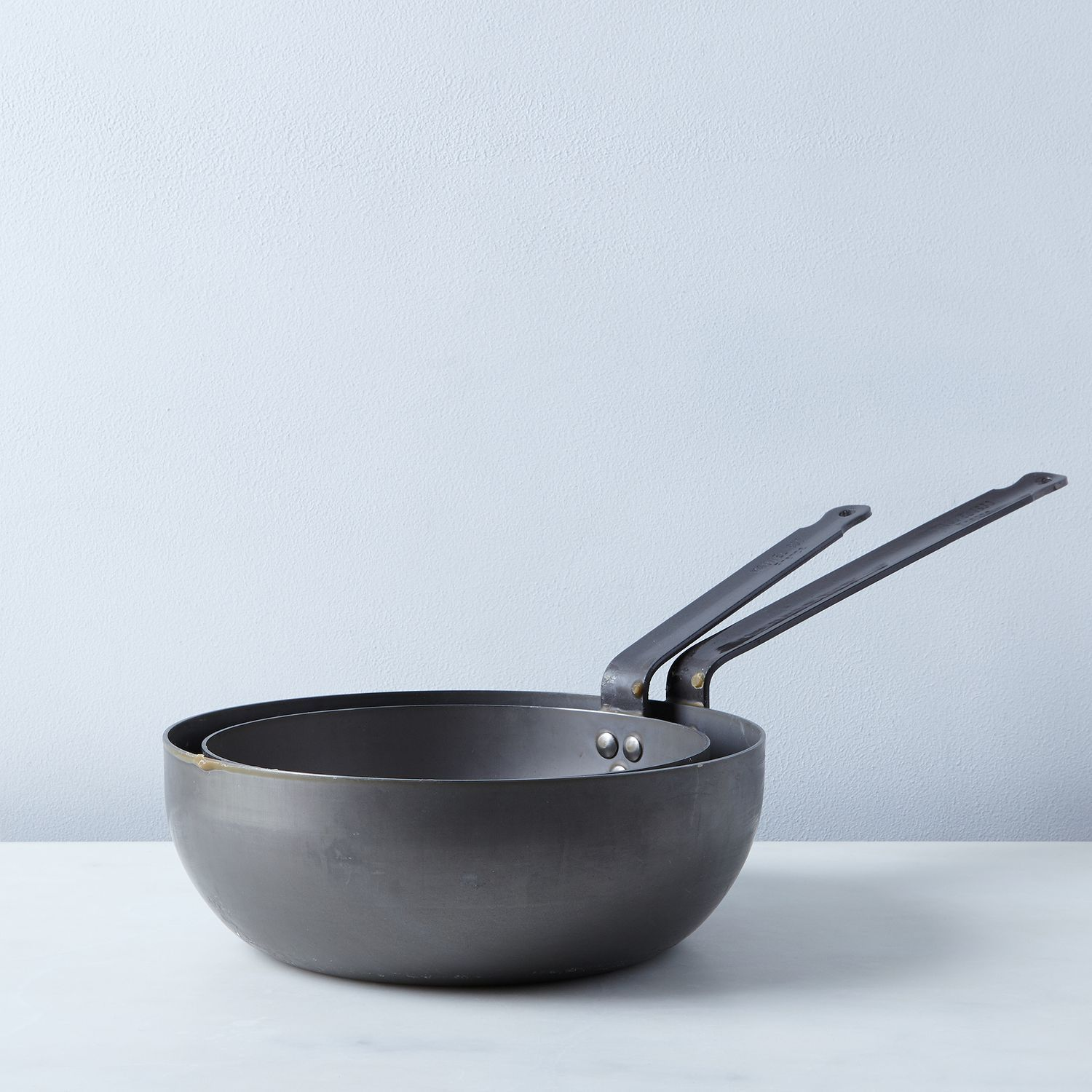 Mauviel M'steel Splayed Curved Sauté Pan on Food52