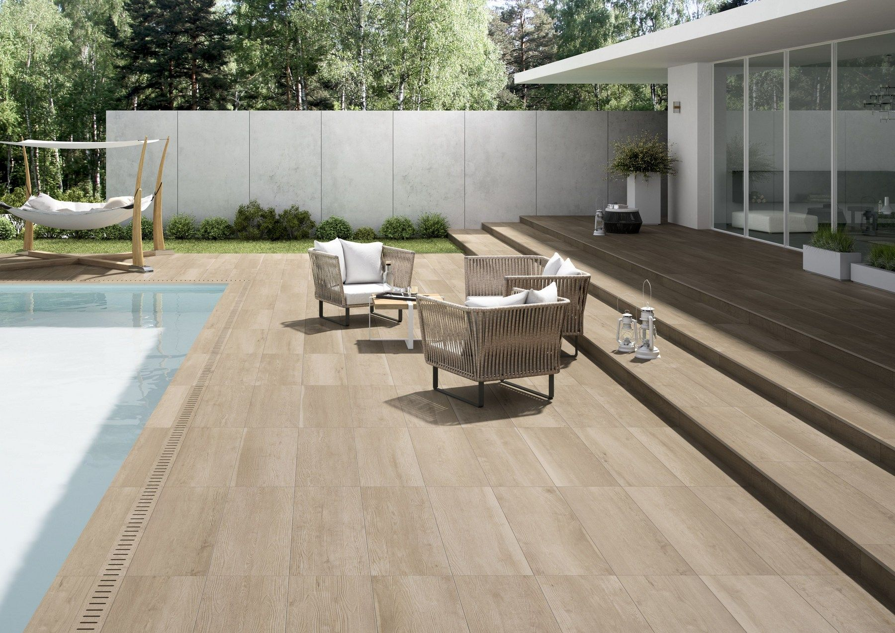 Indoor/outdoor Porcelain Stoneware Wall/floor Tiles With Wood Effect MY  PLANK Classic My