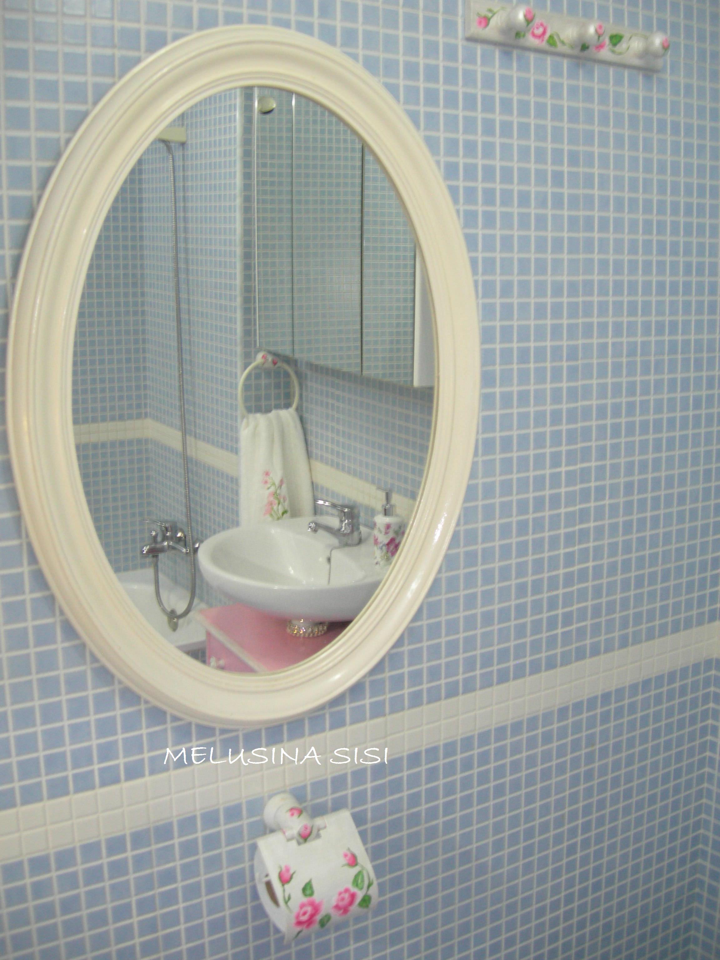 Pin de MELUSINA en Customiza el mueble del baño   Espejo ...