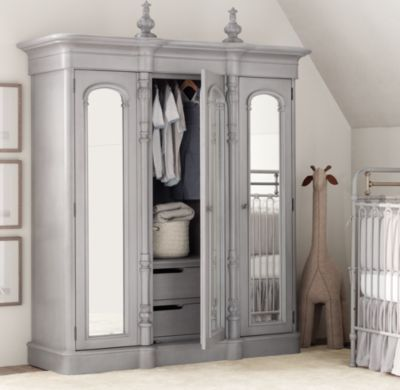 I Love This Chronicles Of Narnia Type Of Wardrobe/armoire From Restoration  Hardware Baby U0026 Child. Great Option For A Room That Doesnu0027t Have A Closet!