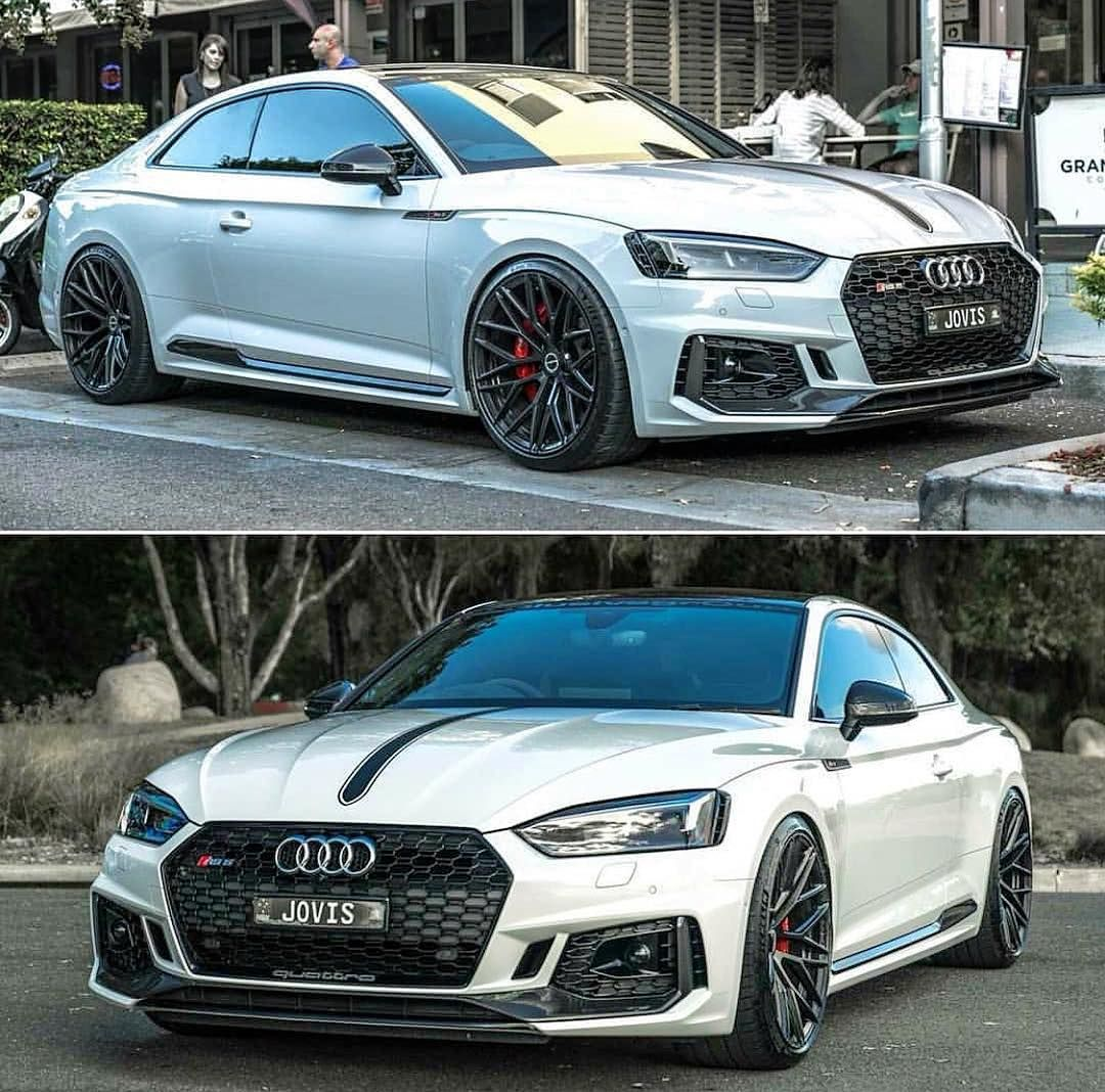 Audi RS5 😈🔥 #audirs5 ⚡️🔥 . . . ️ FOLLOW FOR MORE ️ @audi