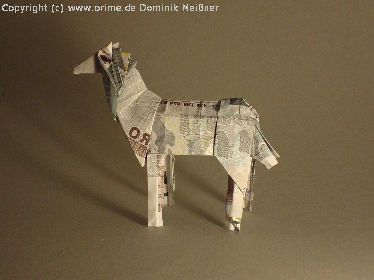 Origami Geld Pferd Horse Flickr Photo Sharing Hochzeit
