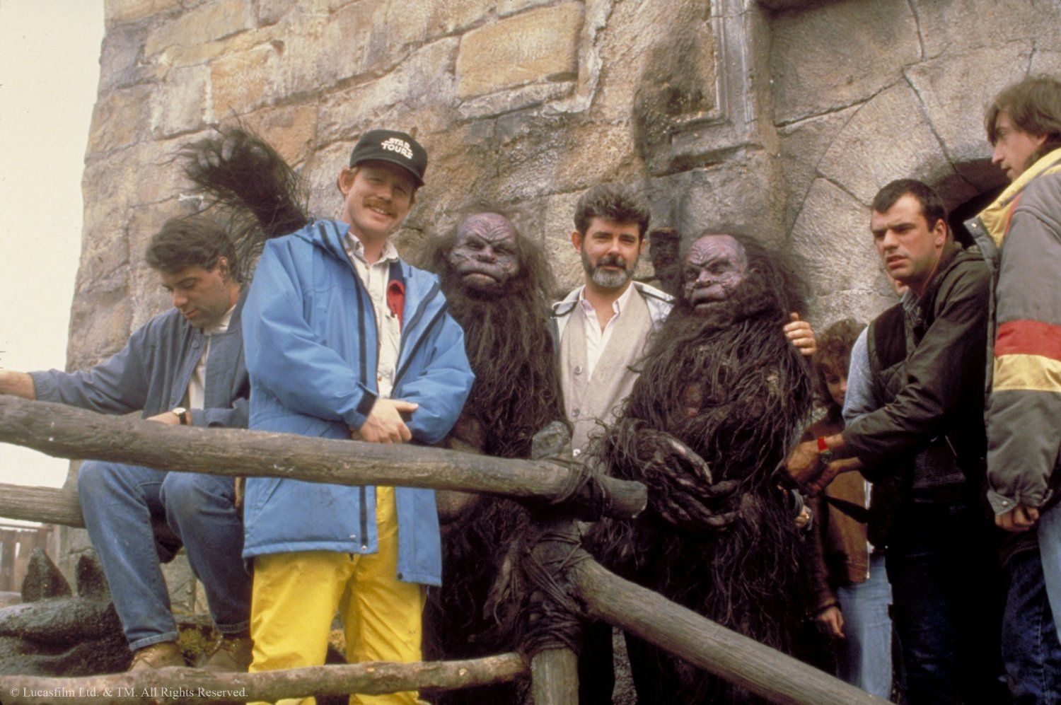Image result for ron howard and george lucas, willow
