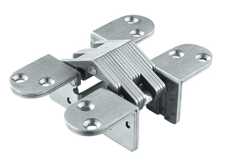 2 way adjustable Stainless Steel concealed hinges for big