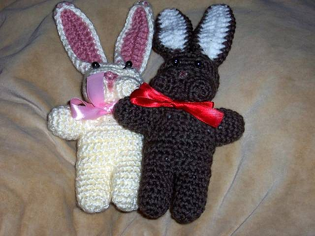 rabbit2 by kathyeffingjacobs, crochet rabbit bunny