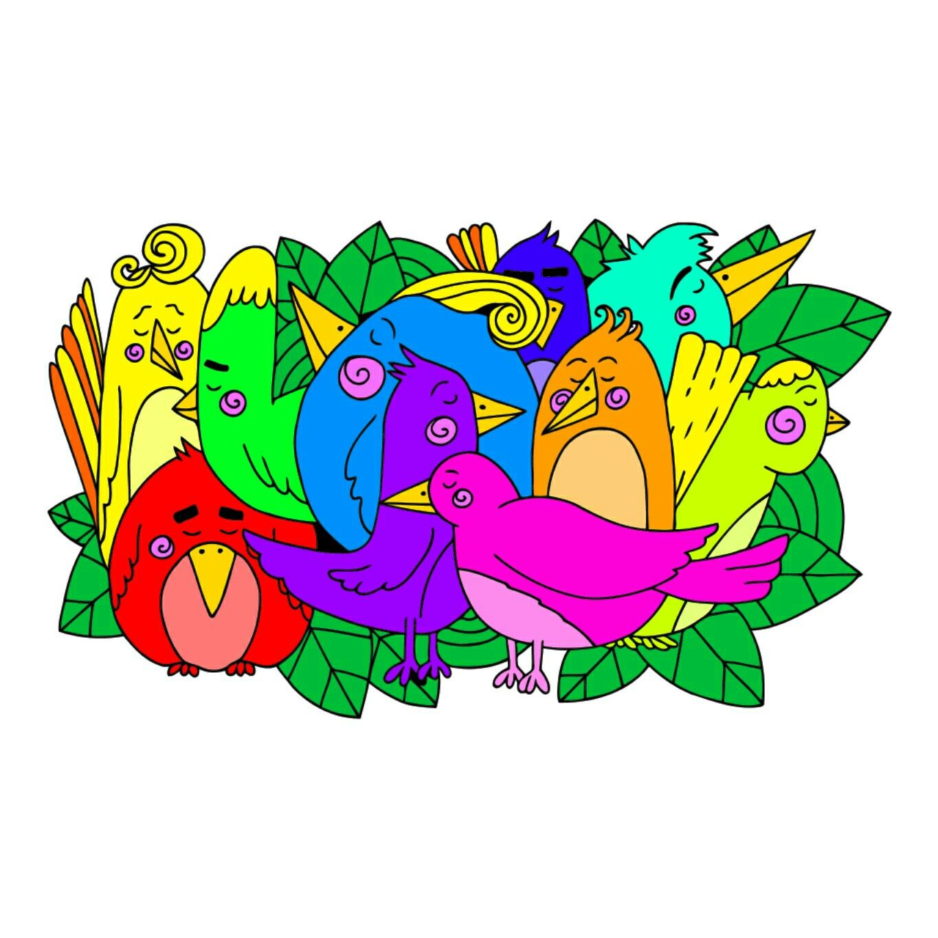 Pin By Aneh Adam On Allawn Coloring Book App Colouring Pics Happy Colors