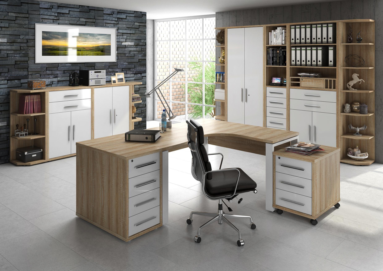 eckschreibtisch b ro pinterest arbeitszimmer buero und schreibtisch. Black Bedroom Furniture Sets. Home Design Ideas