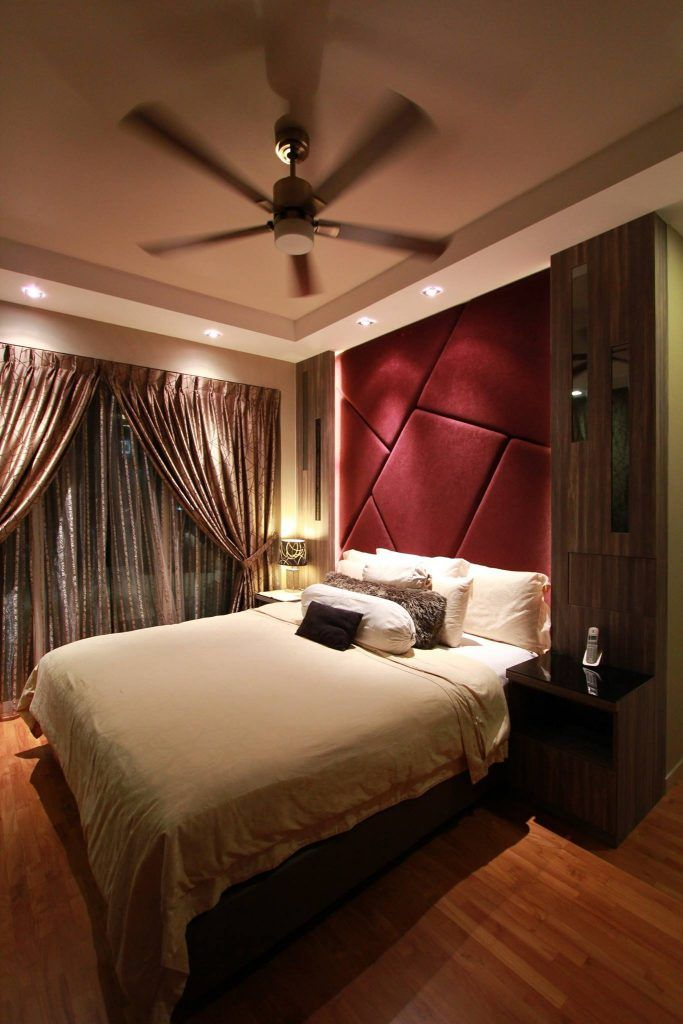 Cozy modern home at optima tanah merah interior design singapore cool lighting master bedroom also pinterest rh