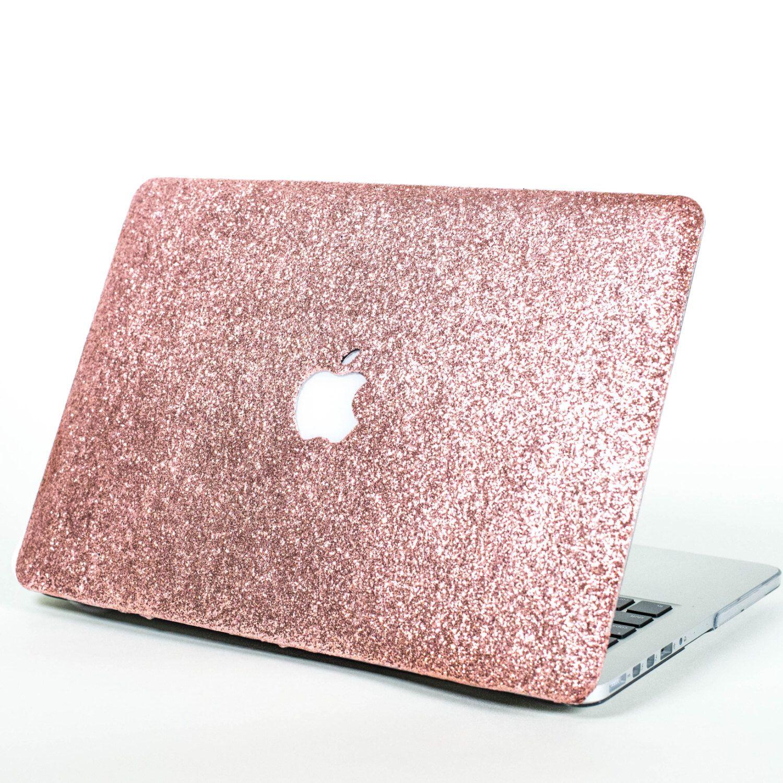 97d949e63f8e ROSE GOLD- Glitter Macbook Hard Case for Macbook Air, Macbook Pro, + ...