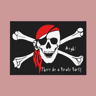 Skull and Cross Bones Custom Invites  4.7 (1618 reviews)  In stock!  Quantity:  invites.  Only $0.70 in bulk!  Add to wishlist  $1.75  per invite
