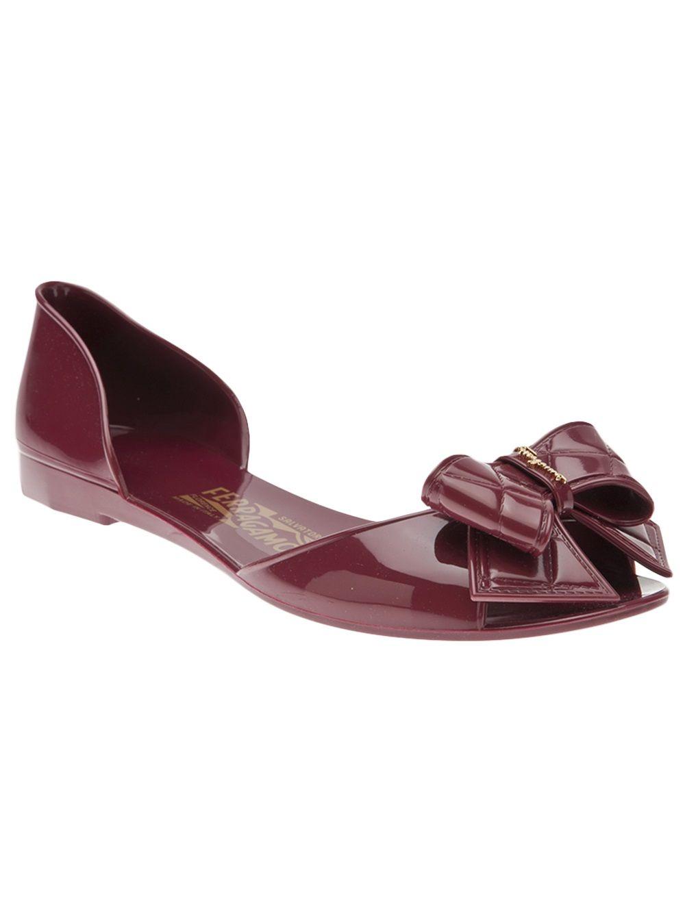 c66db0806 Salvatore Ferragamo Jelly Flat - Hu s Shoes - Farfetch.com