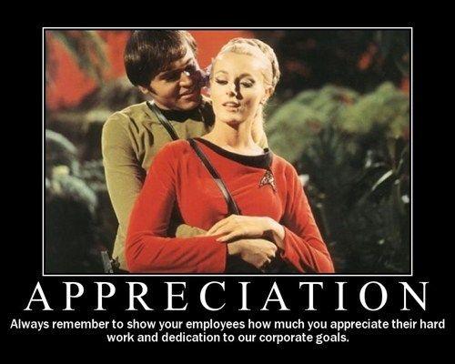 Very Demotivational Star Trek Funny Star Trek Original Series Star Trek Meme