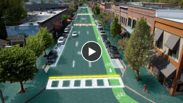 Solar Roadways est un projet de route solaire qui pourrait bien révolutionner le XXIe siècle