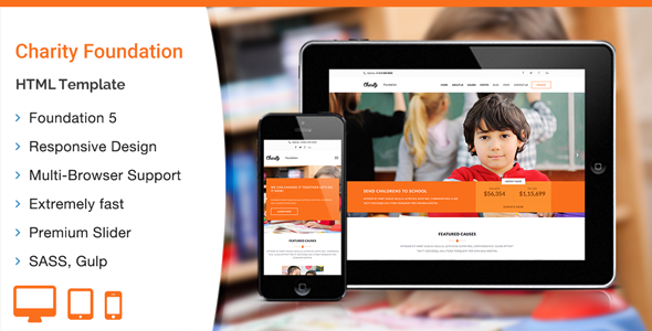 Charity foundation html template httpsthemekeeperitem buy charity foundation html template by wplook on themeforest is a simple and clean but still professional template suitable for charity ngo maxwellsz
