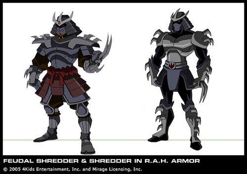 Feudal Shredder Rogue In The House Mega Shredder