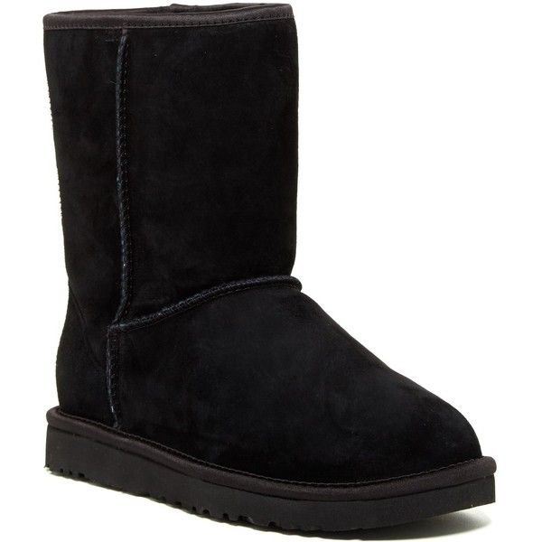 ugg australia classic short crystal bow uggpure lined boot