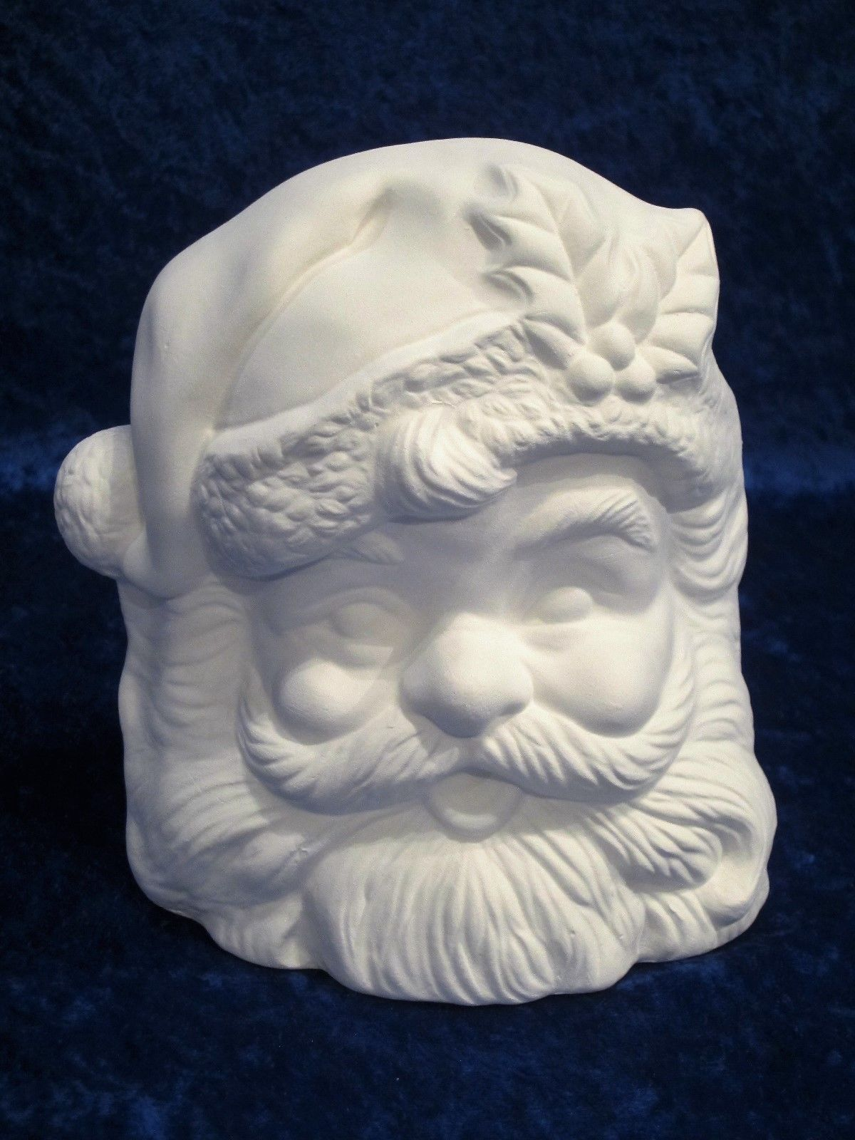 Mrs Santa Claus Knitting Ready to Paint Unpainted Ceramic Bisque