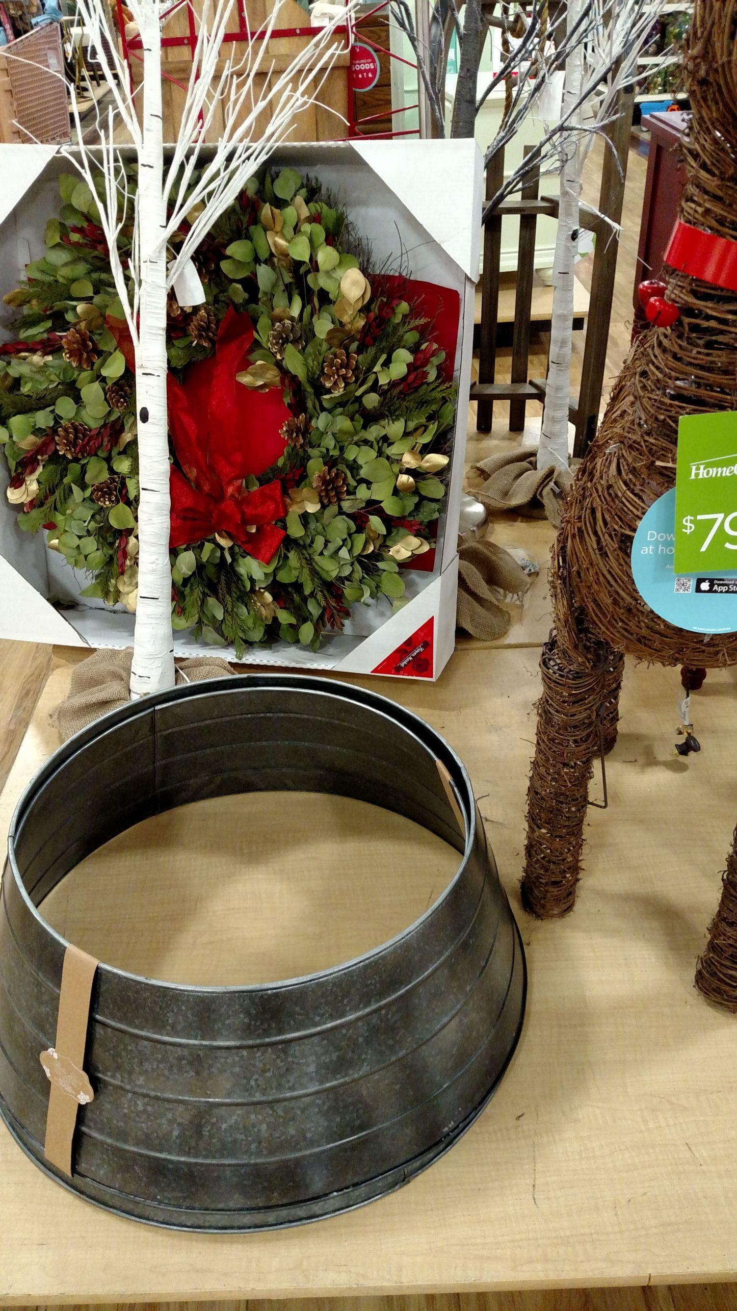 DIY Christmas Tree Collar Diy christmas tree