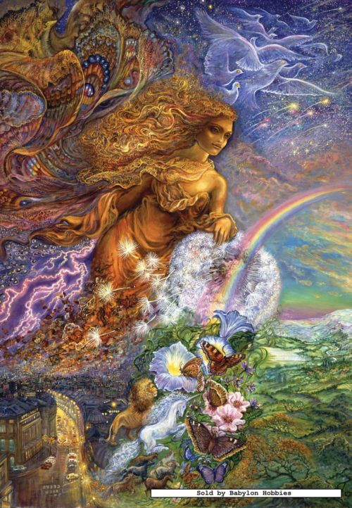 Josephine Wall Zodiac Puzzles Submited Images Pic2fly Josephine Wall Art Beautiful Art