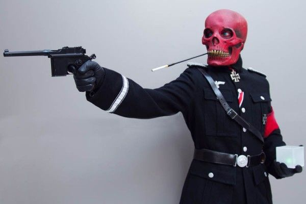 Red Skull cosplay at Dragon*Con 2010.