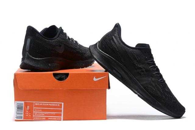 good looking presenting presenting Nike Air Zoom Pegasus 36 Triple Black Mens Running Shoes | Nike ...