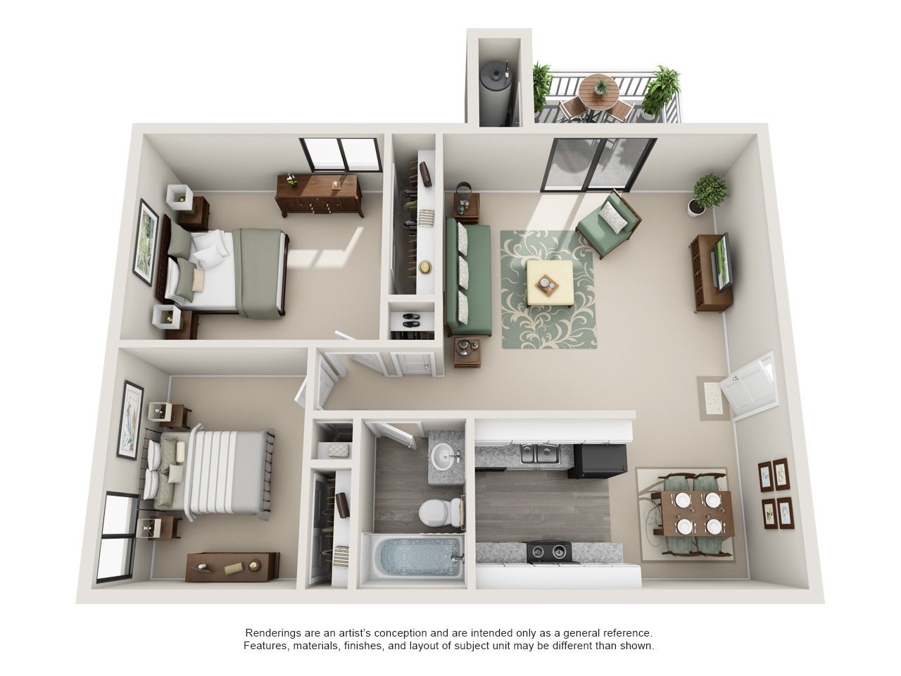1 2 And 3 Bedroom Plans Hearthstone Apartments Aurora Colorado Apartment Steadfast House Layouts Apartment Floor Plans Bedroom House Plans