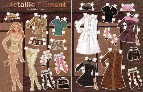 Бумажные куколки с одеждой барби: 55 тис. зображень ...