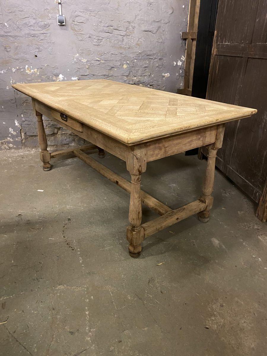 Ancienne table de ferme en chêne   Nord Factory   Table de ferme ...