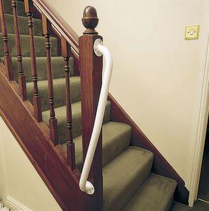 Ots Newel Stair Rails Grab Rails Household Ots Ltd | Stair Rails For Elderly | Porch | Stair Climbing | Stainless Steel | Stair Climber | Cmmc Handrail