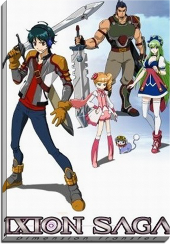 Ixion Saga DT Anime Canvas Anime english sub, Anime
