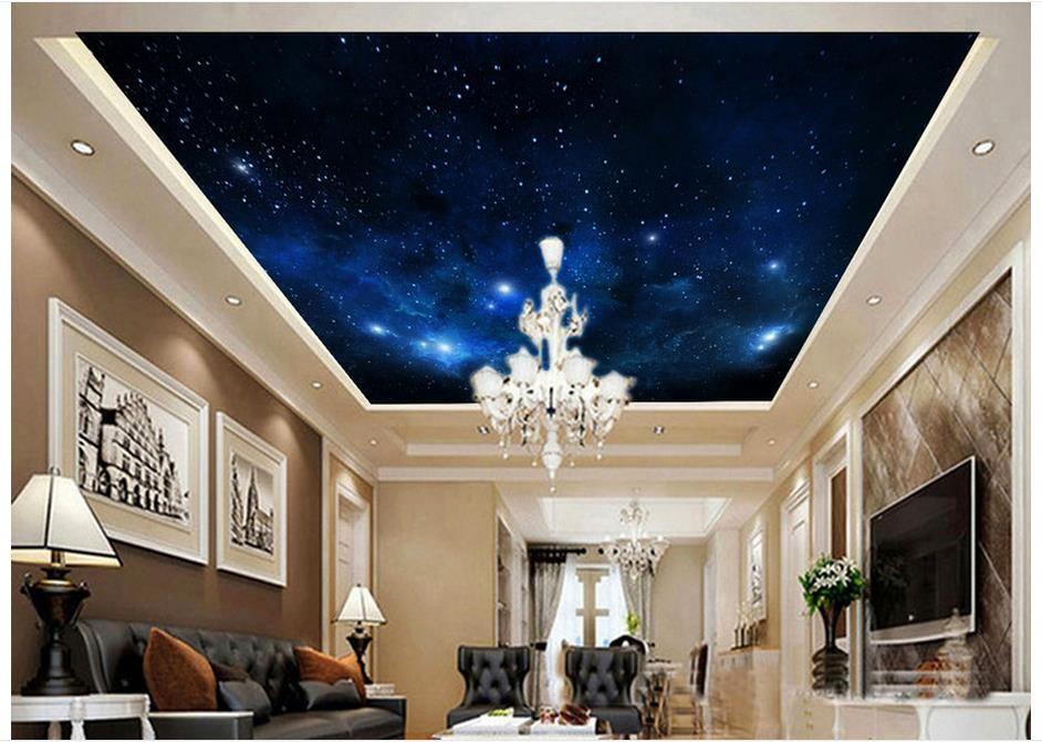 Custom 3d wallpaper 3d ceiling murals wallpaper Dream the night sky