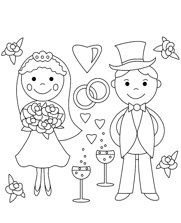 Coloring Rocks Wedding Coloring Pages Love Coloring Pages Valentine Coloring Pages