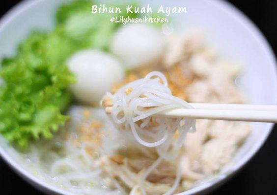 Resep Bihun Kuah Ayam Oleh Lilyhusnikitchen Resep Resep Resep Makanan Makanan