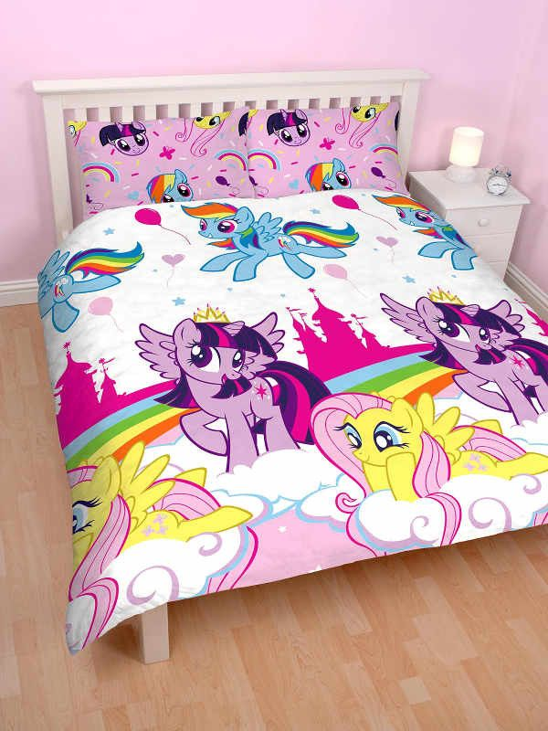 My Little Pony Equestria Double Duvet Cover Set Polyester My Little Pony Bedroom My Little Pony Bedding Quilt Cover Sets