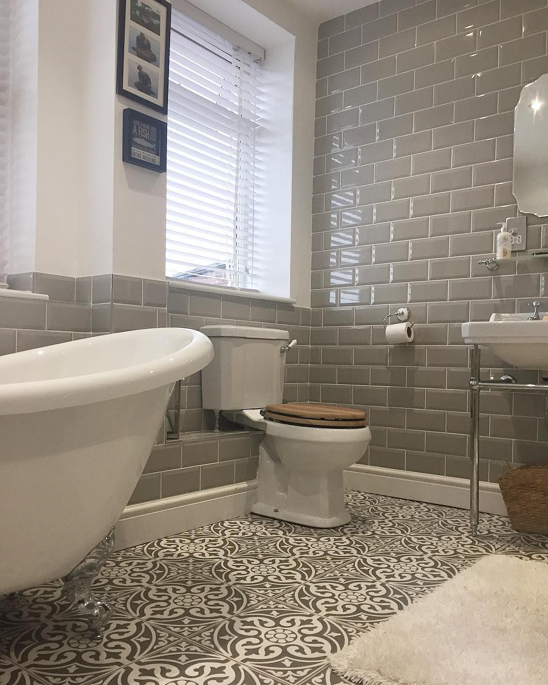 I Will Never Tire Of My Bathroom Do You Think If We Move I Could Take It With M Bathroom Small Bathroom Remodel Bathroom Interior Design Bathroom Interior