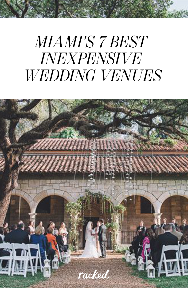 Quickie wedding ideas  Seven of Miamius Most Affordable and Attractive Wedding Venues