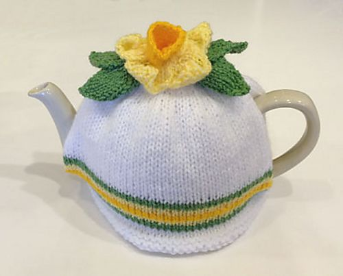 Daffodil Tea Cosy Pattern By All The Fun Of The Fair Tea Cosy