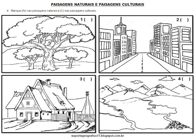 Paisagem Natural E Paisagem Cultural Suporte Geografico