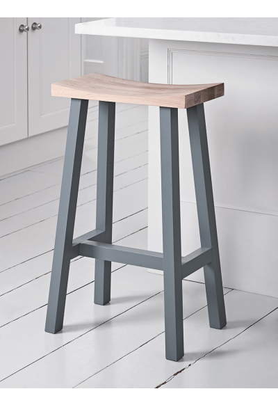 New Curved Top Oak Stool Charcoal Just Arrived Wood Bar Stools Kitchen Stools Bar Stools With Backs