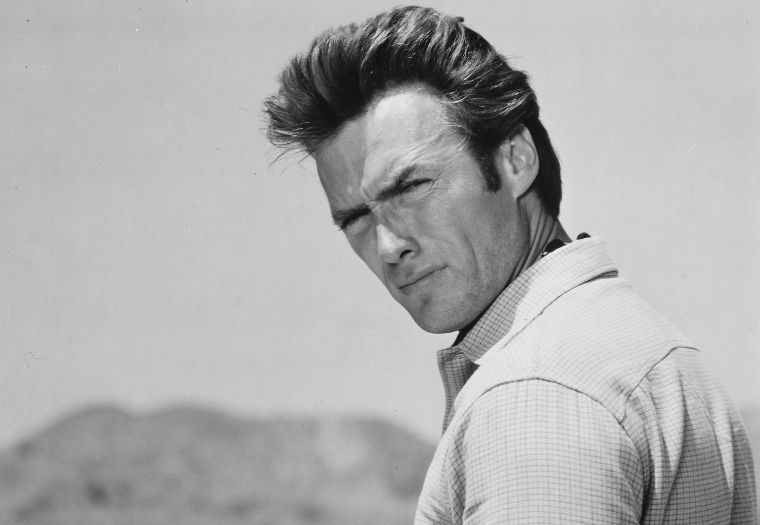 Clint Eastwood in the TV Classic Rawhide