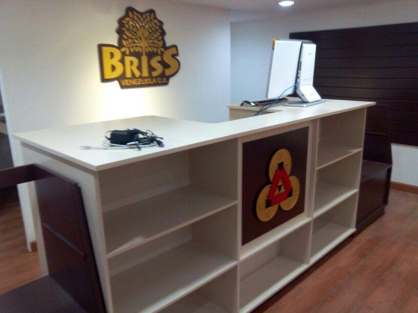 Mueble principal para caja de pagos de local comercial #briss ...
