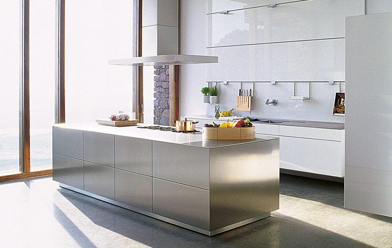 bulthaup b3 stainless steel island. Gorgeous! | Keuken | Pinterest ...