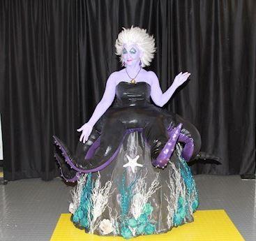 Ursula from The Little Mermaid - homemade costume I made myself.