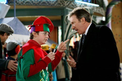 Still of Tim Allen and Spencer Breslin in The Santa Clause ...