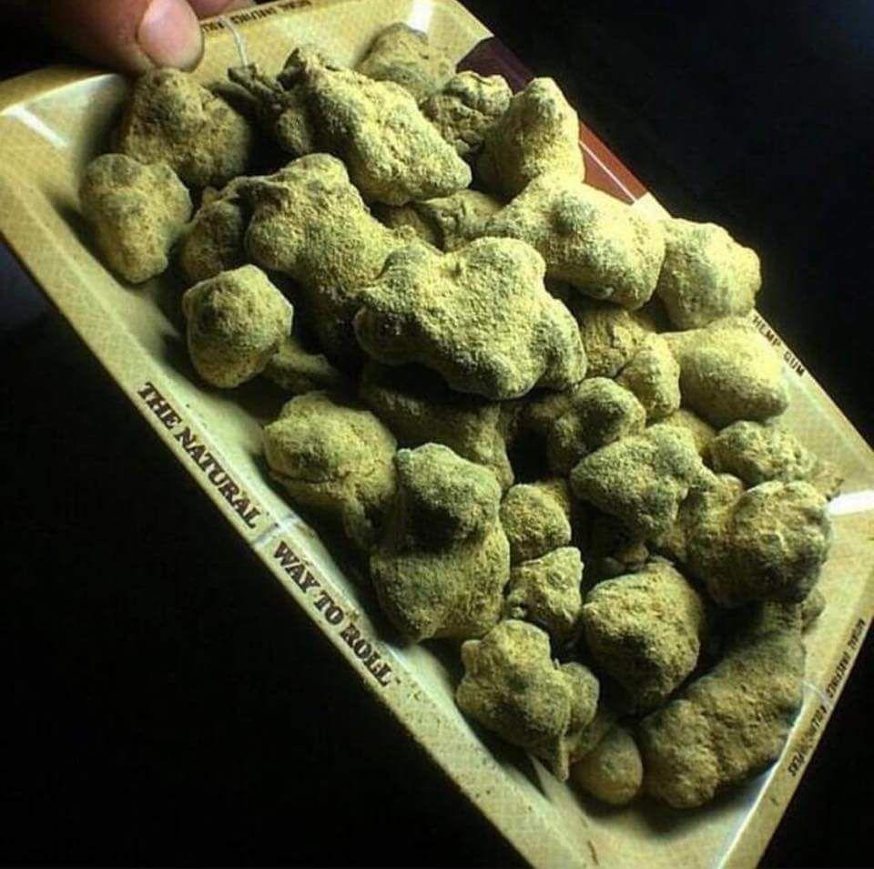 how to make moon rocks weed