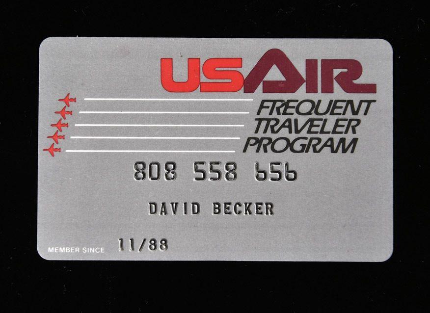 Us Air Frequent Traveler Program Membership Card  FreeFlight